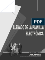 Llenado de La Planilla Electrónica - Munayco