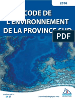 2016-04-Code Environnement Province Sud Avril 2016