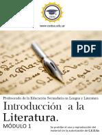 M1-Introducción a La Literatura