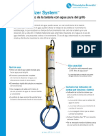 DEIONIZADOR Philadelphia Scientific Brochure Español