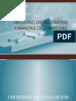 10. Evaluación de Inversiones