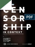 Censorship in Context November 2016