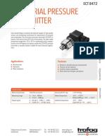 H72324y en 8472 ECT Industrial Pressure Transmitter