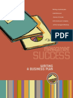 Business Plan - Management Success