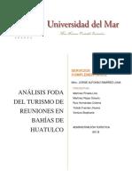 Análisis FODA Bahías de Huatulco