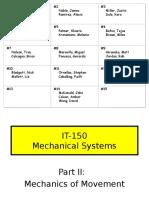 Mechanical Systems II