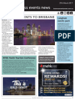 Business Events News for Mon 27 Mar 2017 - Big name events to Brisbane, Youth tourism conference, Perth refurbishment nears completion, Expo Direct expands to Asia, and more