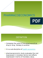 93638769-Pharmacoeconomics-Ppt