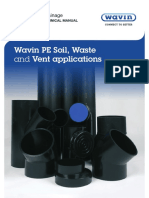 Wavin PE Soil & Waste Product & Technical Manual