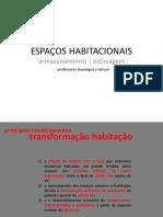 ESPAÇOS HABITACIONAIS