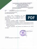 Surat Pemberitahuan Akreditasi 2016