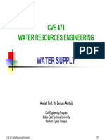 CVE 471 - 5 Water Supply 2