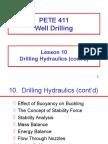 Drill Hydraulics