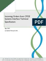 IncomingOrdersfromCPOESystemsInterfaceTechnicalSpecification