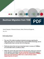 Migracion Del Backhaul de TDM a IP