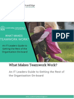 What Makes Teamwork Work
