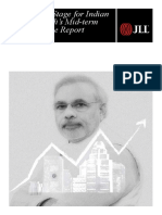 Modi'ss Mid-term Performance Report - JLL India