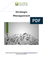 Sample on Strategic Management