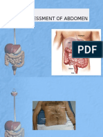 Assessment of Abdomen