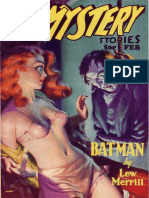 Bat Man by Lew Merrill - From Spicy Mystery Stories
