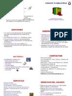 Folleto Alumnos Nuevos Act 2009