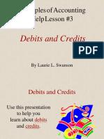 Rule Debit and Credit