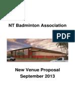 Nt Badminton Association Detailed Proposal 30092013