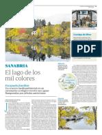 Sanabria, el lago de los mil colores  -  ABC Viajar 24 marzo 2017