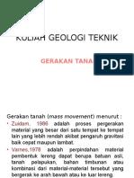 GT 8 Gerakan Tanah