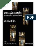 Arqt_ Livia Tirone_Construção Sustentável