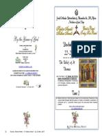 2017-23 April-paschal Vespers -2 Pascha - St Thomas