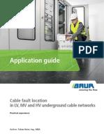 MA 821-070 BAUR Manual Cable Fault Location En