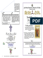 2017 30 April Paschal Vespers 3 Pascha Holy Myrrhbearers