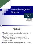 Crowd Management System