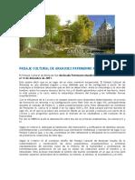 Paisaje Cultural de Aranjuez Patrimonio Mundial