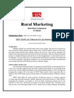 Rural Marketing Assignment.pdf