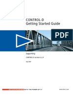 Control-D Getting Started Guide