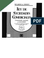Ley de Sociedades Comerciales Tomo 3 Ricardo Nissen (1)