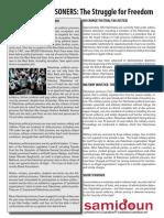 Palestinian Prisoners Factsheet 2017