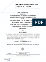 HOUSE HEARING, 104TH CONGRESS - H.R. 2086, THE LOCAL EMPOWERMENT AND FLEXIBILITY ACT OF 1995