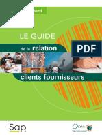 Ouvrage Relation Client-Fournisseur
