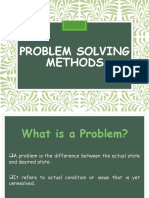Problem Solving Methods-Alternative Presentation Simple
