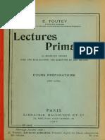 Toutey Lectures Primaires Cp