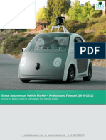 Global Autonomous Vehicles Market Size