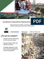 Expositora Beatriz Valenzuela Ponencia Eco Eficiencia y Desarrollo Del Infraestructura Urbana Sostenible