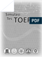 Bonus Simulasi Tes TOEFL