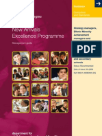 New Arrivals Excellence Programme Guide