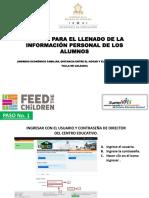 Manual Para El Llenado de La Informacion Personal de Los Alumnos 2015