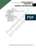 2009 Ranger RZR 170 Service Manual