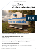 UB Law School Falls From List of Top 100 - The Buffalo News